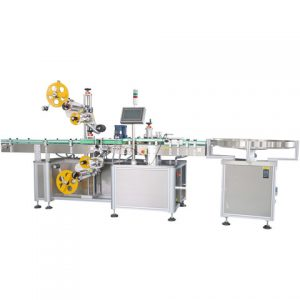 Automatic Adhesive Sticker Labeling Machine For Cylinder Bottles