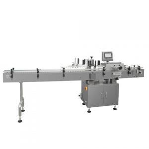Etichettatrice automatica con tavolo di raccolta