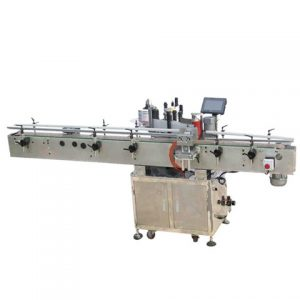 Flat Top Side Labeling Machine With Printer