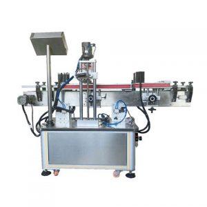 Etichettatrice automatica lineare per bottiglie adesive adesive