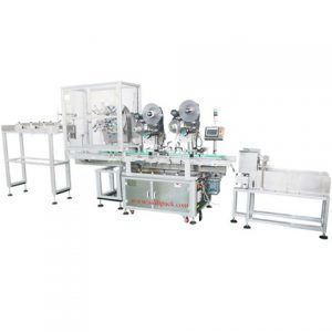 Water Solution Bottle Double Sides Labeling Machine