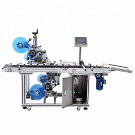 Dettagli dell'etichettatrice piana automatica superiore e inferiore